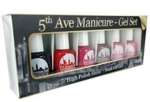 5th Avenue 3 Week Manicure  / Wow!! Les than 10 seconds curing time. The 5th Ave Gel is the latest craze to hit the nail industry. The texture of the product is second to none and the curing time is less than 10 seconds under a LED lamp and 2 minutes under UV.