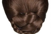 Hairspray Hair Buns / We have a great selection of hair buns, suitable for weddings or every day use.