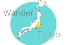Wander Tokyo / The Pinterest board for the website Wander Tokyo, which has advice and experiences from Tokyo, Japan.
