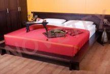NOVETEX Wood bed frame