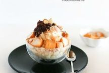 Shaved Ice Bingsu / Shaved Ice that will blow away the summer heat / by Korea Tourism Organization
