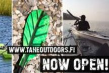 Tahe Outdoors / Some are drawn to the air, some find their love on the water.we are that extra something that connects you with the water in the most reliable and enjoyable way. Premium quality water-sport equipment from 8 different brands with attention to every single detail and concern for the environment.
