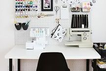 Crafty Spaces / Ideas for creating an inspiring workspace