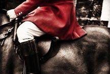 Fox Hunters / hounds & horses