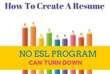 ESL Professional Development / Don't stagnate. Take the initiative and advance in your profession.
