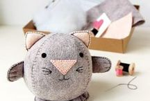Craft Kits / Sewing craft kits for you and your kids
