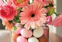 Easter Decorations / Home decorations to help you feel like Spring is here!