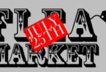 Flea Market at the show grounds / Saturday, July 25th 2015