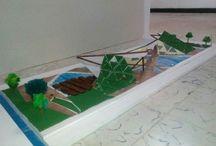 Maquetas / Maquetas realizadas para la materia proyecto. Arquitectura UPB Montería.