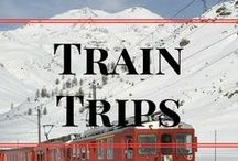 Train Trips / The best pins about travel by train. Ideas for train trips! Tips to make your experience better! or just inspiring others to travel by train...