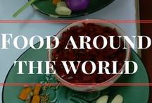 Food around the world / This board is yummy in my tummy! Pins about food all over the world. Recipes and great food from all over the world