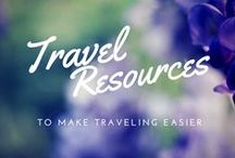 Travel Resources / Anything to ease your travel planning and traveling.