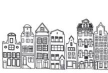 Illustrations of Buildings and more.