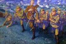 1st World War in Russian art / Первая Мировая война в русском искусстве