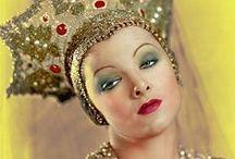 Kokoshnik in early 20th-century BW photographs / Silent movies and fanny faces. Кокошники в черно-белых фотографиях 1-й половины 20 века