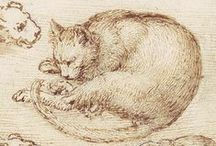 Leonardo da Vinci's cats and Madonna del gatto