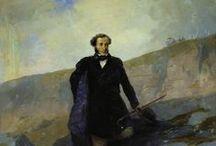 Пушкин у Айвазовского