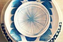 Tazas+platos+ceramica !!!! / objetos cotidianos que nos dan alegría momentánea. / by Laura Muñoz