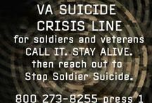 One Day At A Time / Just make it through a day. If you need help with that, we're here for you. And it's ok to ask for help. We're former military, so we get it.