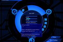 video game ui / Collection of user interfaces in video games