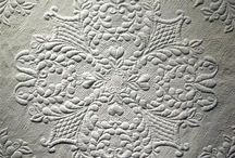 Beautiful quilts, embroidery and lace / by Betsy Elkins