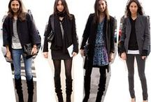 french editor look / my favourite fashion pieces from carine roitfeld, emmanuelle alt and geraldine saglio