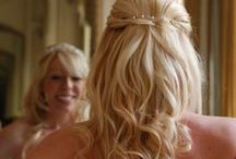 Hair extensions / I am often contacted by brides who wish their own hair was longer or thicker,  they imagine they don't have as much choice as girls with long thick hair. Having amazing hair for your wedding is a must, so fortunately these days you don't have to be hindered by what Mother Nature has provided, Hair Extensions can be used give you the hair of your dreams for your big day.  Read more here - http://beautifulhair4weddings.blogspot.co.uk/2013_10_01_archive.html