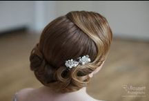 Vintage Styles / Vintage inspired wedding hair styles are so this season and a bridal trend that will run and run. Here are a few of my favourite brides