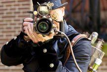 Vintage Cameras / by Brigitte Valada
