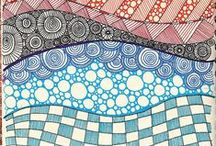 Zentangle's art