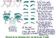 Tutorial comics / Reference anatomia - pose - vestiti - stoffe