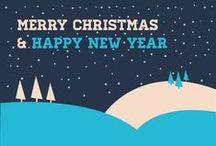 Merry Christmas / Immagini e ispirazioni per realizzare degli auguri di Natale originali, creativi e personali.