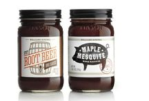 Barbeque sauce / My favourite BBQ sauce packaging