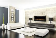 Electric Fireplaces / Electric Fireplaces Direct is the leader in electric fireplaces, mantel packages, electric stoves, & fireplace inserts for modern homes and interior design. See more products at www.ElectricFireplacesDirect.com