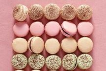 French Macarons and Candies