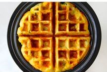 Oh My Waffle! / Find WTF recipes that you don't believe it exists! Sweet and salty. - Everthing you can do with dough.