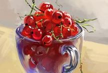 PAINTINGS - FRUITS
