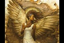 Angels and Wings / In almost all cultures and religions, the belief in angels has prevailed through the ages. Angels are benevolent protectors who stand guard and watch us unceasingly. Do they cry when we cry and laugh when we laugh? Do they struggle as we do?