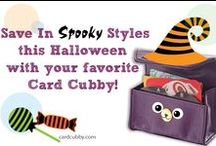 Holiday Card Cubby / Card Cubby is perfect for every holiday season! Saving in style never goes out of season!