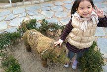 5살 딸아아와 놀기 / 30대의 부산 사나이 아빠가 5살 딸 아이와 시간을 보내며 잼있게 놀아주기