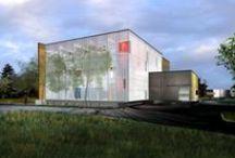 Nos projets / Nos différentes réalisations et conceptions en matière d'architecture : culture, sport, enseignement, équipement public, habitat, industrie, restauration, tertiaire, urbanisme, logement, ...