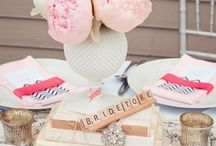Bridal Shower ideas / Decor & food ideas / by Kari Anderson