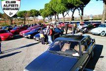 3° domenica del mese - Area servizio Settebagni 21-12-14 / Incontro auto storiche con il Club Alfisti Romani all'area di servizio Settebagni domenica 21-12-2014
