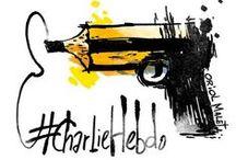 #JeSuisCharlie / L'omaggio dei vignettisti di tutto il mondo alla rivista francese Charlie Hebdo. 07/01/2015