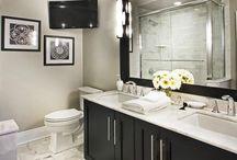 Bathroom / My dream bathroom 〜 big mirror, flower