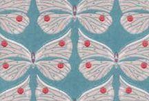 Patterns, fabrics, wallpapers
