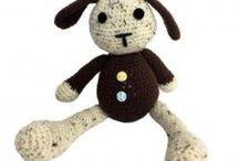 Jucarii crosetate / Handmade crocheted toys.