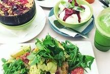 Healthy Hot Spots / Healthy cafes, bars and restaurants all round the world. Places to eat and drink for the health conscious.