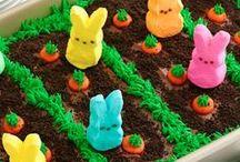 Pääsiäinen & kevät tarjottavia / kevään ruokia, herkkuja