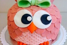 Owl Cakes and Cookies / by Owlet